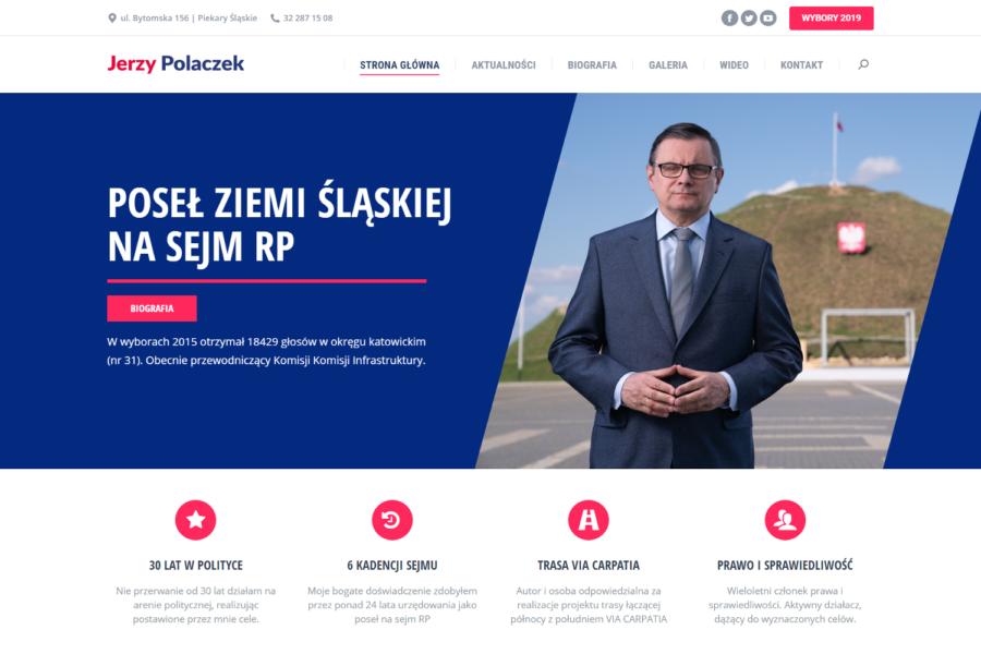 Strona internetowa dla posła