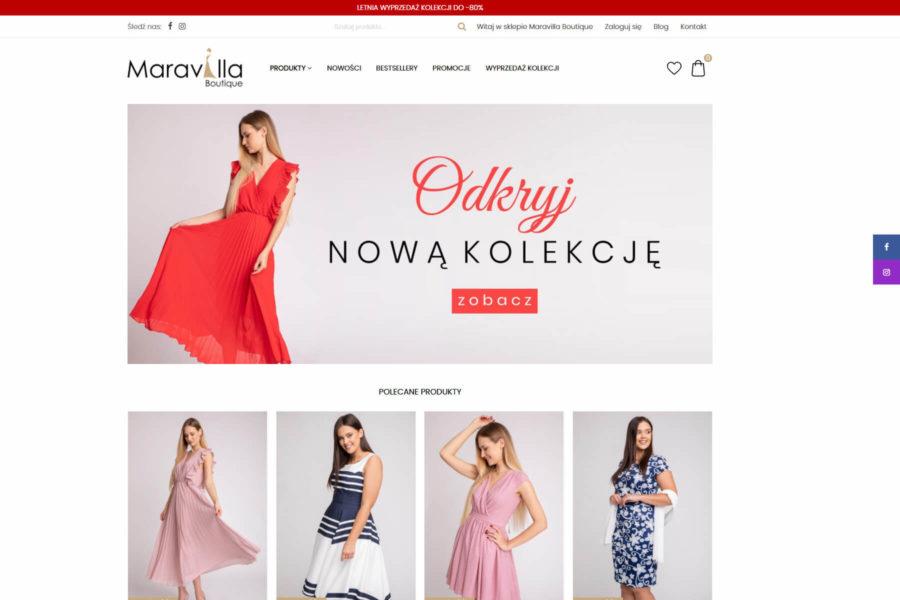 Maravilla Boutique - sklep internetowy z odzieżą