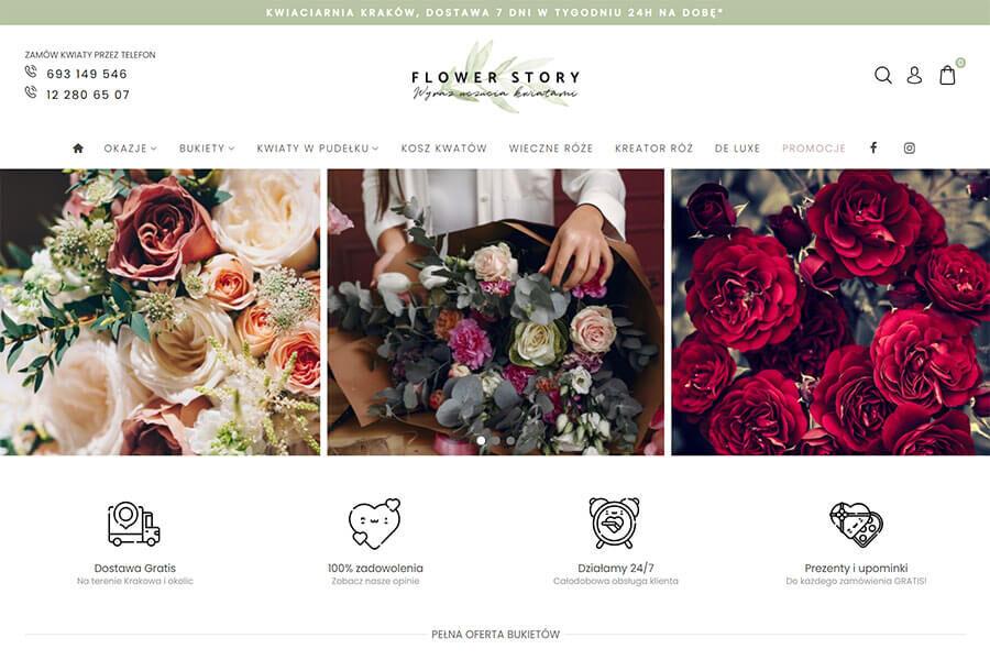 Flower Story - sklep z kwiatami online